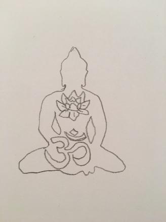 Buddha sketch