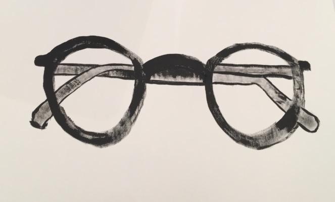 black acrylic-acrylic paper-size-dry brush