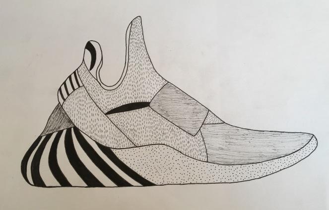 fineliner shoe