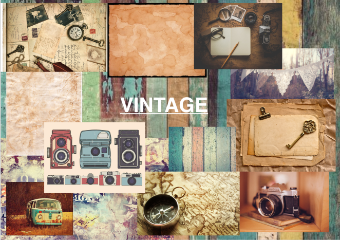 'Vintage' - Moodboard